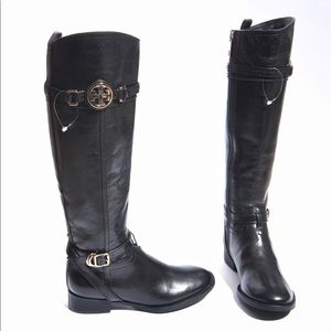 Tory Burch Calista 30mm Black Riding Boot size 5M